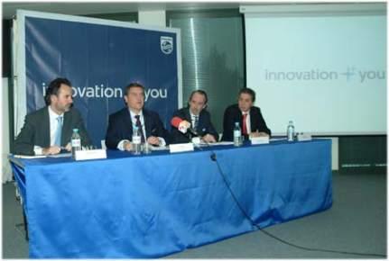 De Izquierda a derecha, Alejandro Cidón,Juan Sanabria, Joe Manuel Torre y Eduardo Mataix