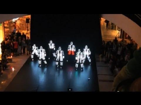 Coreografía con LED