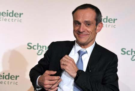 CEO schneider_electric Jean Pascal Tricoire