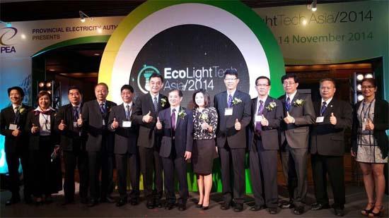 EcolightTech Asia 2014, iluminación eficiente, PEA,