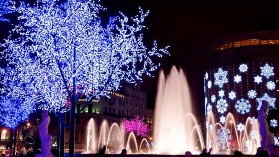 Iluminar la navidad en espa a cu nto cuesta - Iluminacion de navidad ...