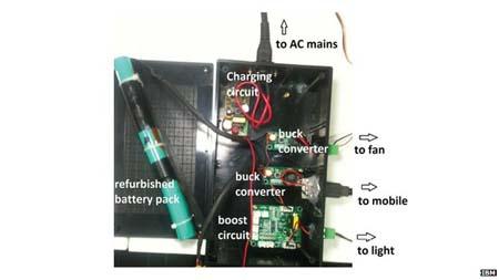 baterías-IBM-LED- reciclaje-iluminación LED- MIT