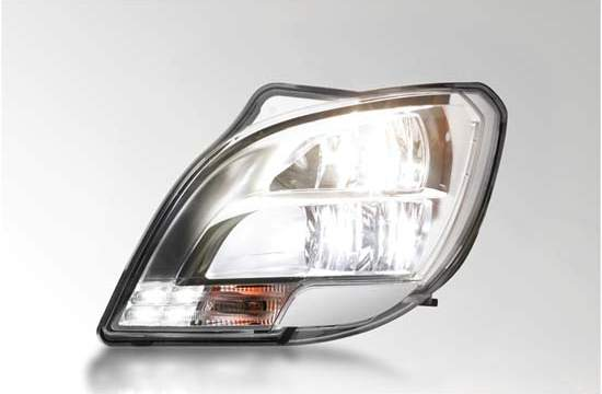 HELLA- faro-LED- vehículo industrial
