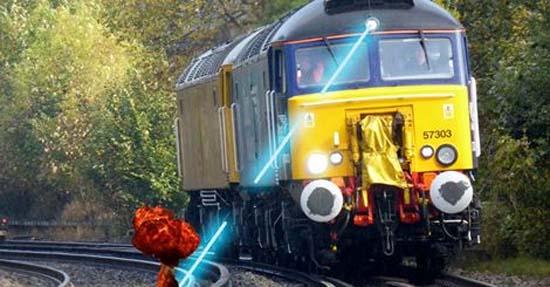 ThorLaser- láser- láseres- raíl- tren-Network Rail