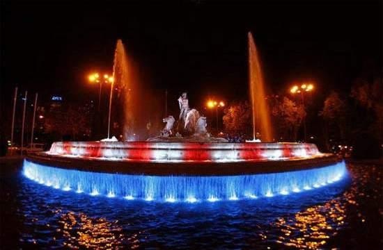 iluminación-LED-fuentes-Madrid
