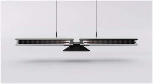 Ariel-luminarias-LED-Jake Dyson- lámpara