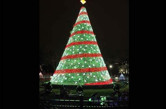 GE Lighting- Casa Blanca-LED-National Christmas Tree- Sodimac,