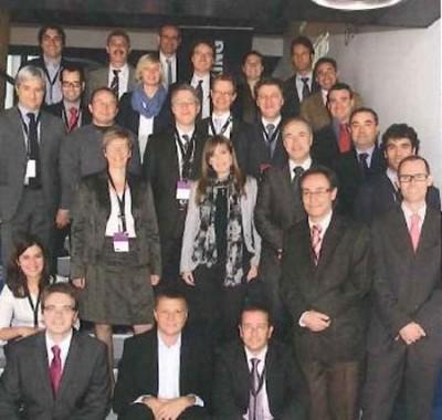Foto de la Reunión de lanzamiento del proyecto UV-Marking en Dicembre de 2012