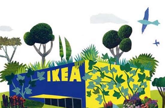 IKEA- LED- iluminacion- Steve Howard