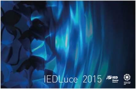 IEDLuce 2015- IED Master Design- luz