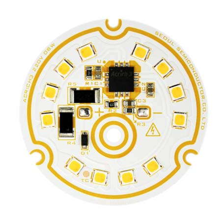 Acrich 3- Seoul Semiconductor- iluminacion-LED