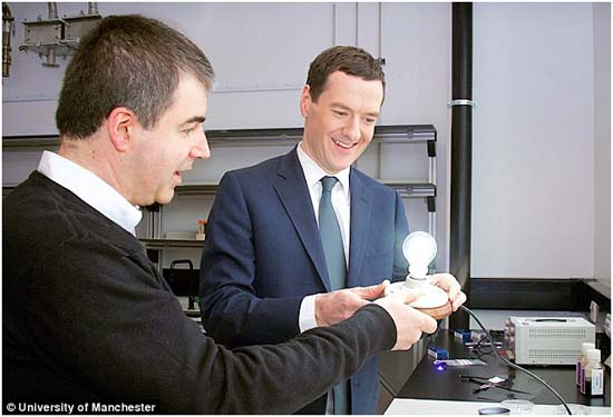 Bombillas- grafeno-LED-Universidad de Manchester - bombilla de grafeno