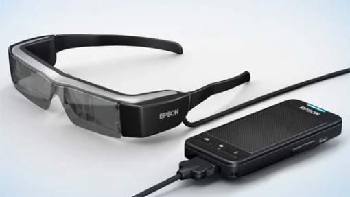 i2CAT-Epson, Smart Glasses-transmisión de datos a través de la luz-VLC-visual light communication