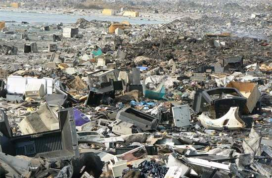 basura electrónica-UNU