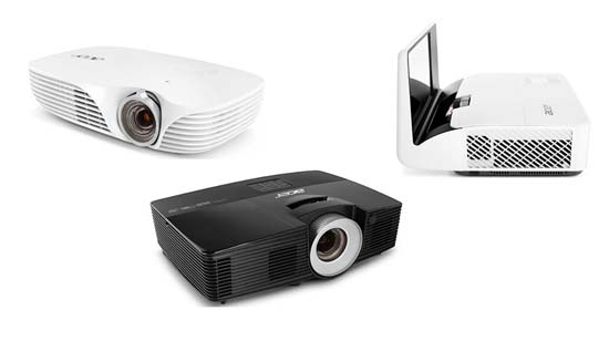 Acer- proyector LED- sensor de luz