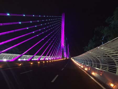 Viaducto de la Novena- Bucaramanga- Colombia- LED- iluminación-