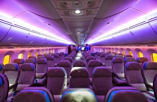 Compañías aéreas-LED- iluminación- luces de cabina