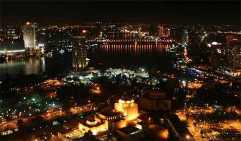 Bombillas- Egipto- alumbrado público