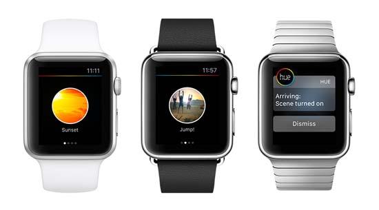 Philips Hue- Apple Watch- iluminación- iluminación conectada