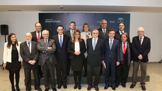 Andalucia-Andalucía Open Future- Telefónica- Junta de Andalucía- Smart Cities