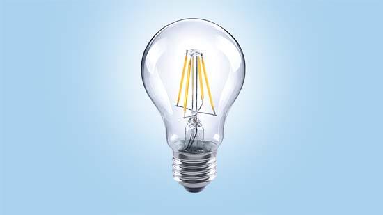 lámpara- lámpara de filamento-LED- LUX