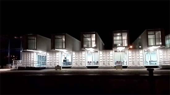 Iluminaci n en terminal de cruceros de sevilla - Iluminacion sevilla ...