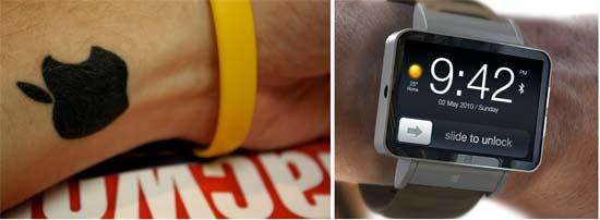 Apple Watch- tatuajes- sensors- LED