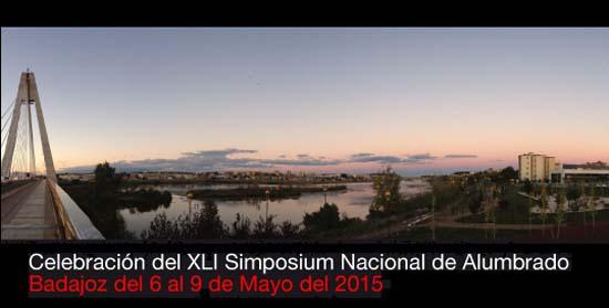 XLI Simposium Nacional de Alumbrado-CEI- Alumbrado- iluminación-Badajoz