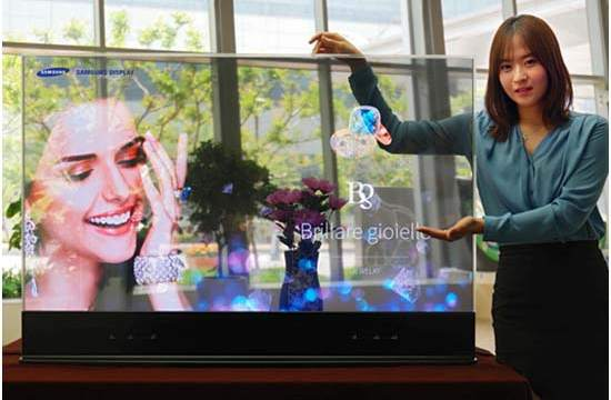 Pantallas- OLED- Samsung- displays- panel- RealSense- retail