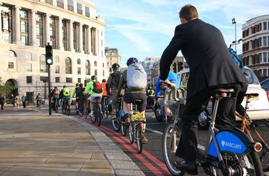 Semáforos-Londres-ciclistas- Transport for London