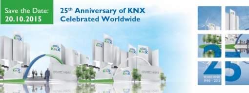 KNX-25 aniversario- automatización- control- edificios