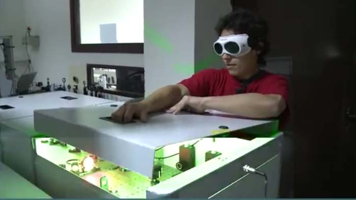 OPTOEL- CLPU- láser- láseres- CLPU- Salamanca- Luis Roso- optoelectrónica- fotónica- luz