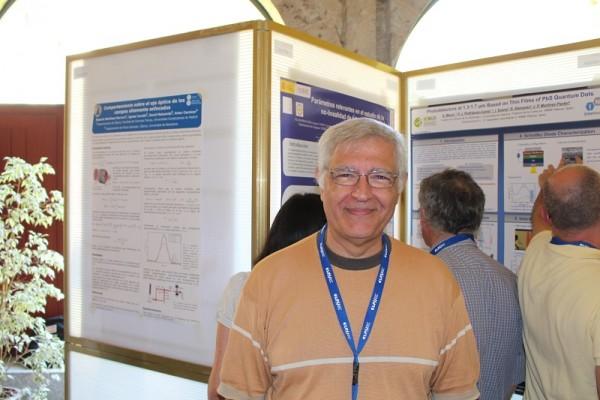 Joaquín Campos Acosta, ,director del IO (Instituto de Óptica) del CSIC estuvo en OPTOEL