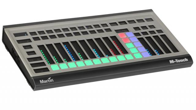 Martin Professional- Earpro- control de iluminación- M-Touch- iluminación