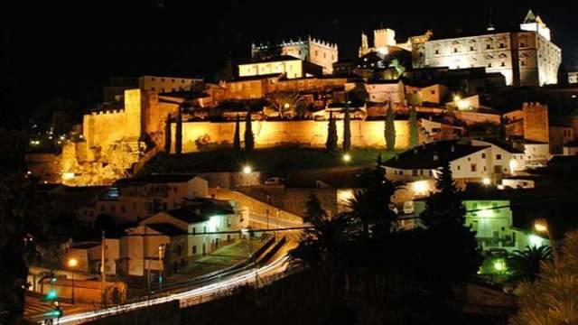 iluminación, alumbrado público- Cáceres- SICE- LED