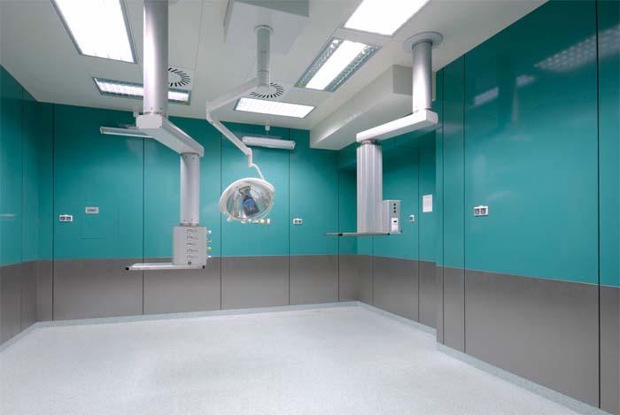 Iluminación-Health&Care- Luxiona- luz- Miguel Ángel Gómez- sala blanca-luminarias- hospital