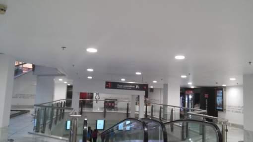 LED-Caverin Solutions- iluminación- Centro Comercial La Vaguada- luminarias- LG-