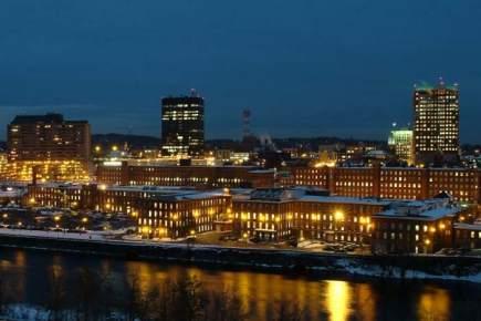 Siemens-farolas-LED- Ciudad de Manchester- EE.UU-alumbrado público