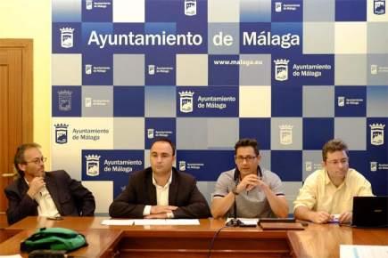 contaminación lumínica- alumbrado público- Málaga- zonificación lumínica- luminarias- flujo luminoso