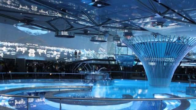 iluminación subacuática- Ignialight- iluminación