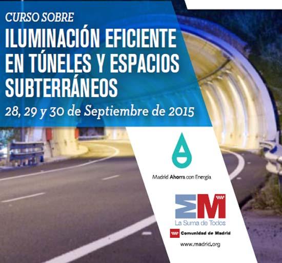 Iluminación- infraestructuras subterráneas- smartLIGHTING- túneles