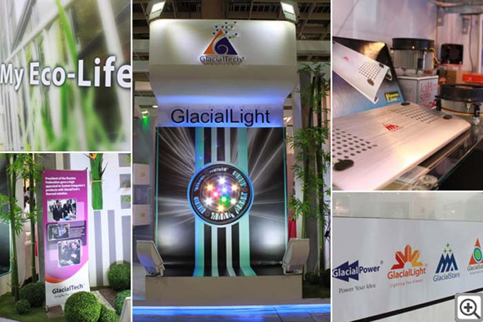 COB- driver- gestión térmica- LED- GlacialLight- paquetes de LED- iluminación