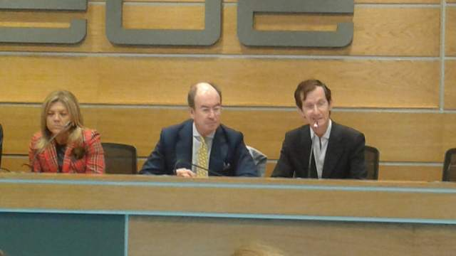 Pilar Vázquez, Alfredo Bergés y Gonzalo Prado