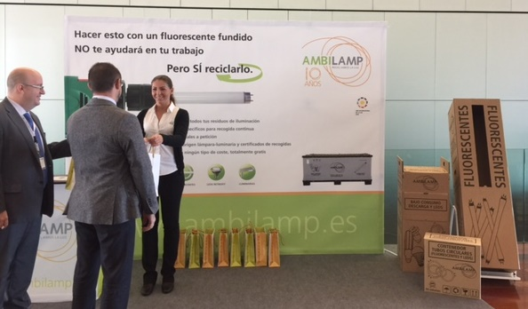 Ambilamp-FENIE- Congreso- LED- luminarias- reciclaje- lámparas- iluminación