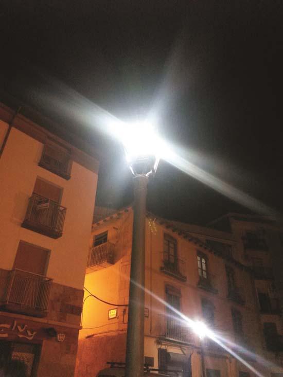 Quintanar del Rey-Alisea- LED- alumbrado- iluminación- alumbrado público