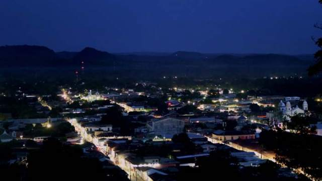 AES CLESA-Unitape- GE Lighting-Lightgrid-Sonsonate- GE- luminarias-alumbrado publico-El Salvador- iluminación-LED-alumbrado