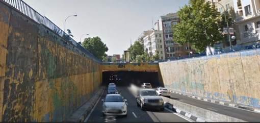 Luminarias- túnel-Manuel Becerra-ayuntamiento de Madrid