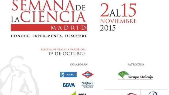 Actividades-Semana de la Ciencia de Madrid