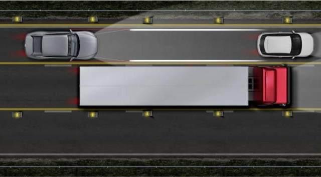 Iluminación-Audi -Car-to-X-láser- luz