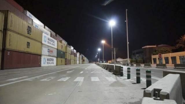Sistema de Iluminación Dinámica-TDI- SEA TERMINALS- Noatum- Valencia-iluminación- Terminal Dynamic Illumination